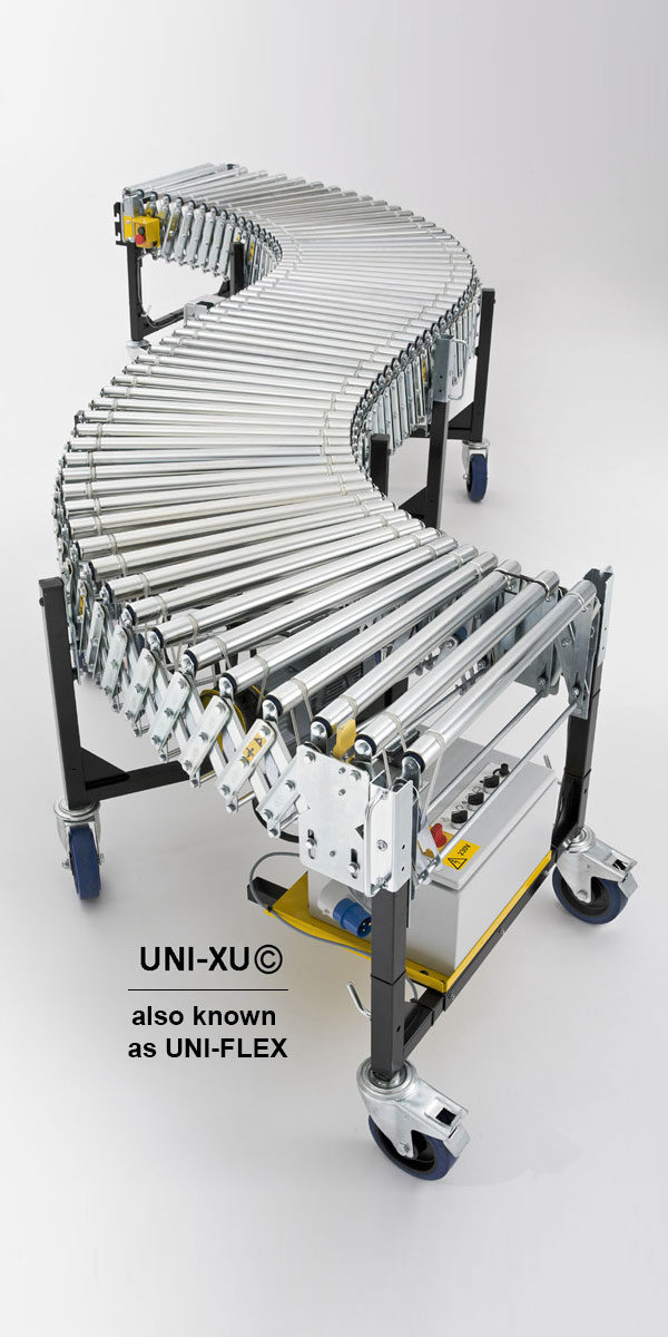 Powered Roller Expandable Conveyor